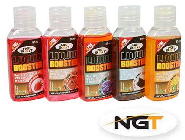 Booster NGT Liquid - 50ml Příchuť: scopex