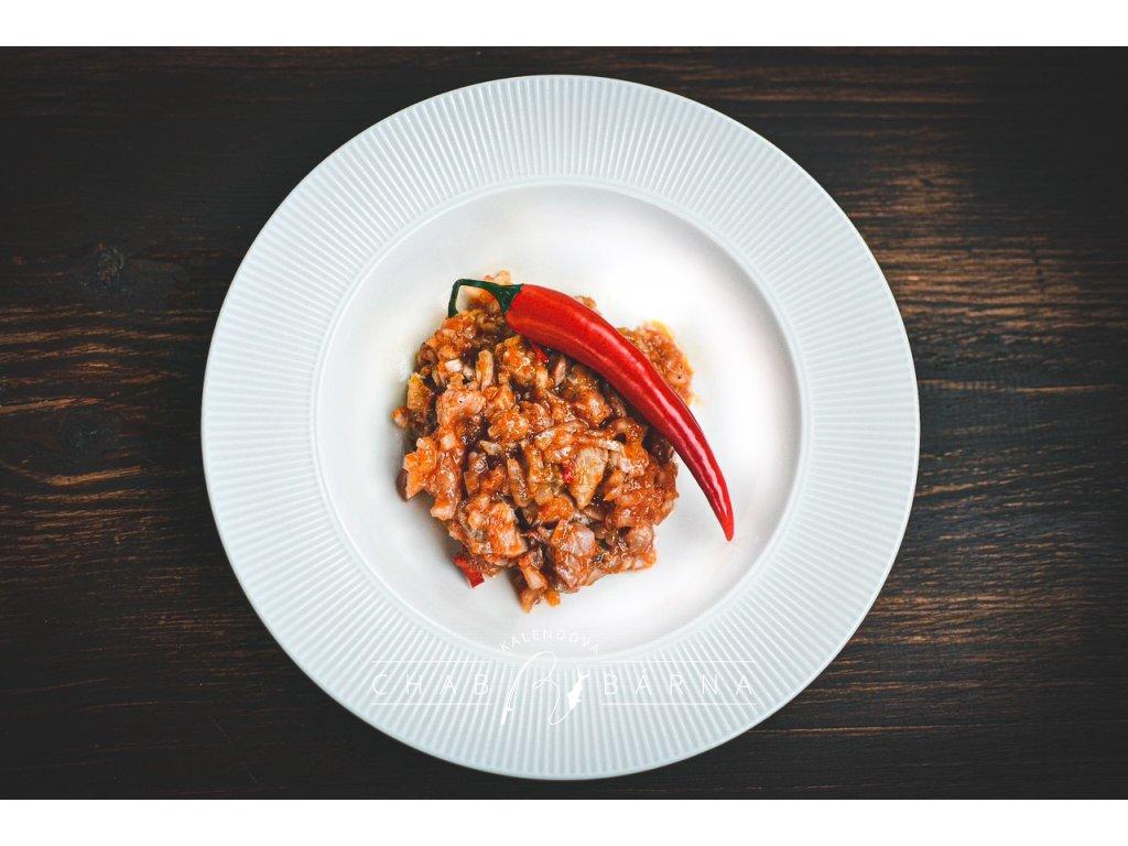 Salát z kapra dle receptury pana Kalendy s chilli 150g