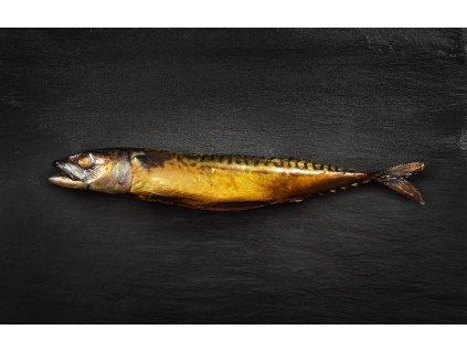 CHABRYBARNA 22 04 2020 uzena ryba MAKRELA