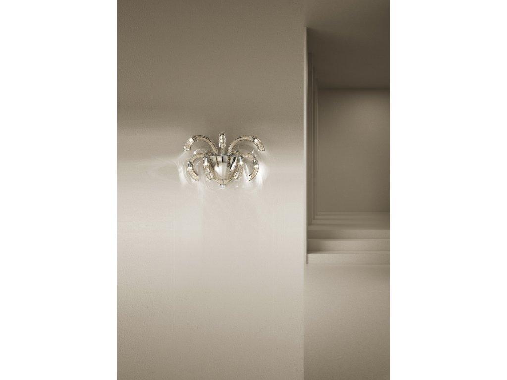 Sylcom osvětlení Phoenix (Barva šedá, Materiál leštěný chrom)