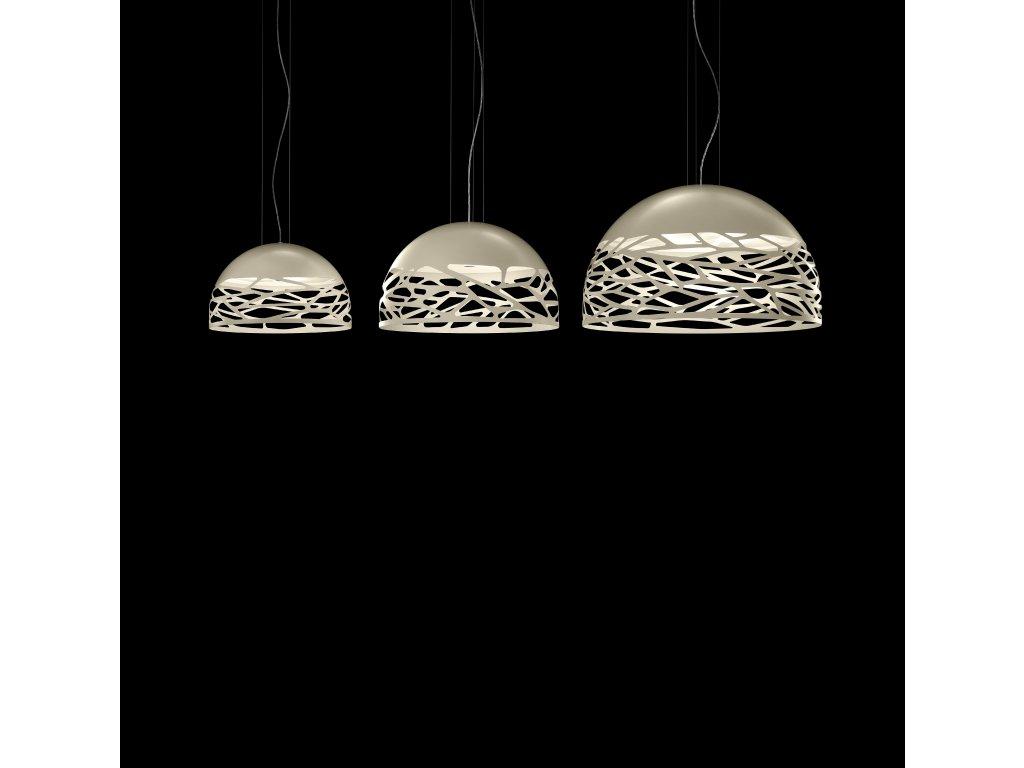 Lades osvětlení Kelly (Barva bronzová, Tvar Sphere-60)