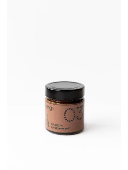 Ořechový krém 03 Čokoláda s mořskou solí