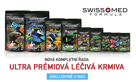 SwissMed ultraprémiová krmiva pro akvarijní ryby