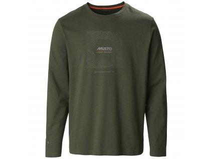 Pánské tričko s dlouhým rukávem MUSTO
