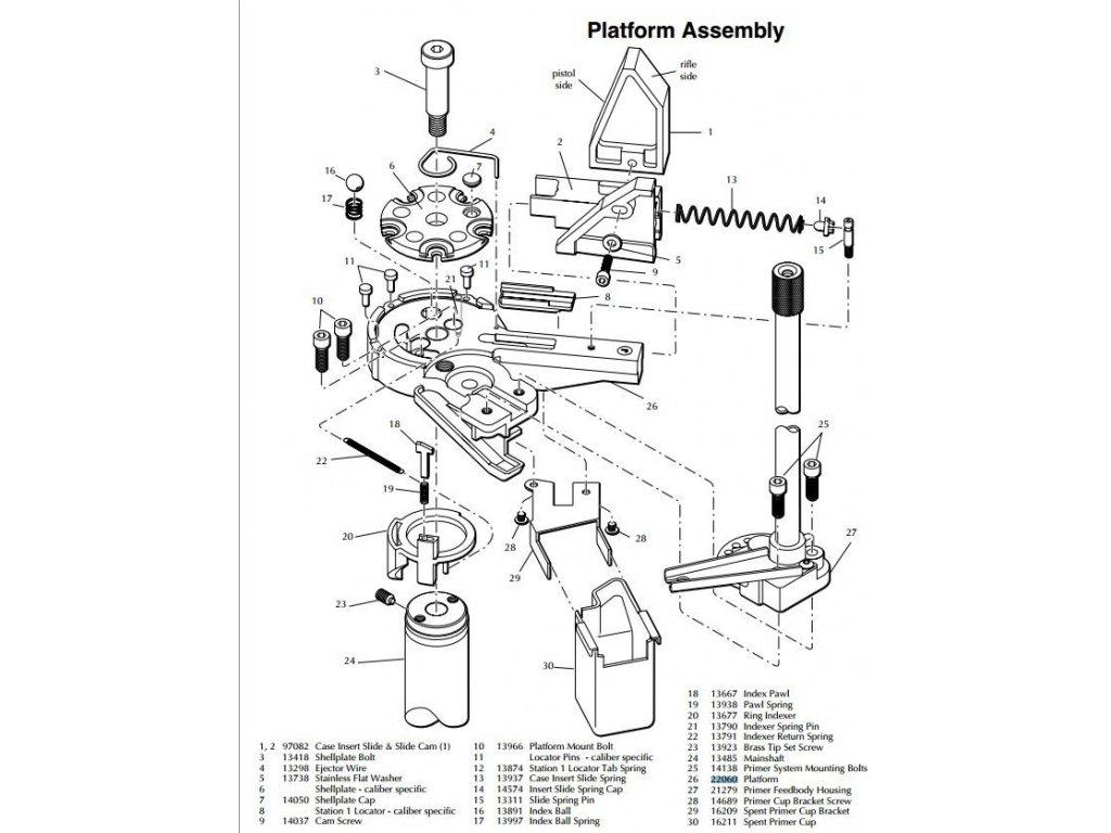 Dillon Platform Assembly
