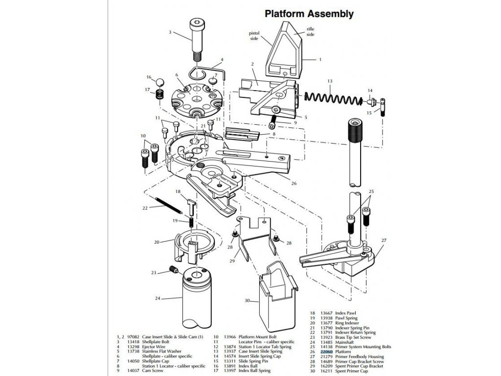 Dillon Slide & Cam Assembly