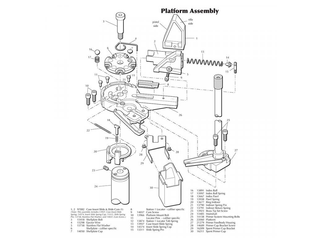 25388 xl650 platform parts b