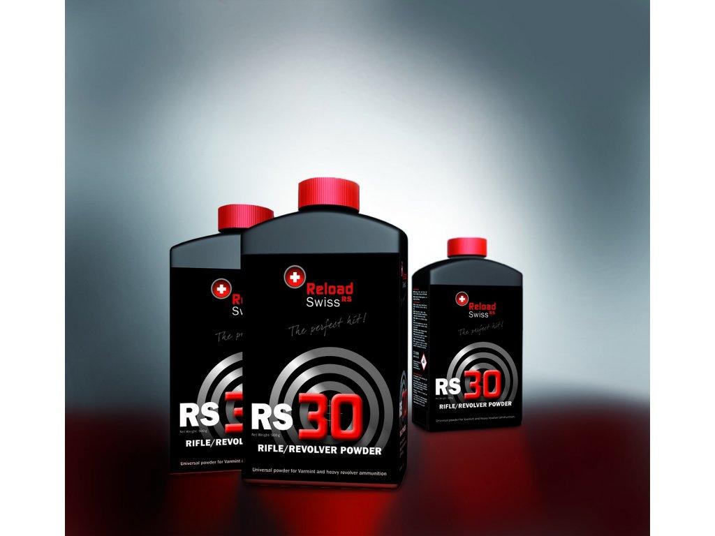 Bezdýmný prach Reload Swiss RS30 cena za balení 500 g