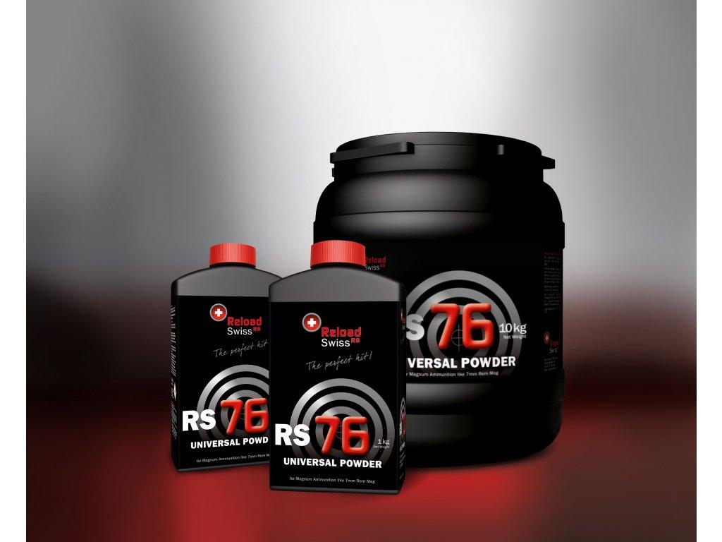 Bezdýmný prach Reload Swiss RS76 cena za balení 1 kg