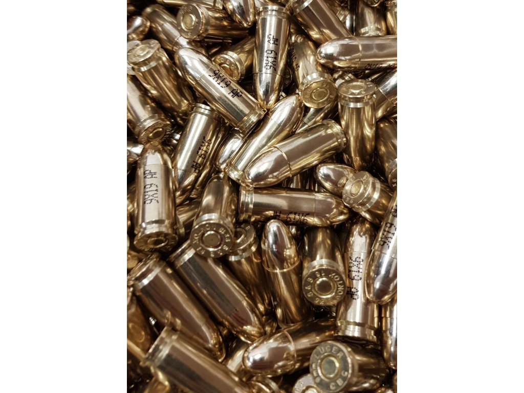 Náboj 9mm LUGER SUBSONIC ALSA PRO cena za 1000 ks