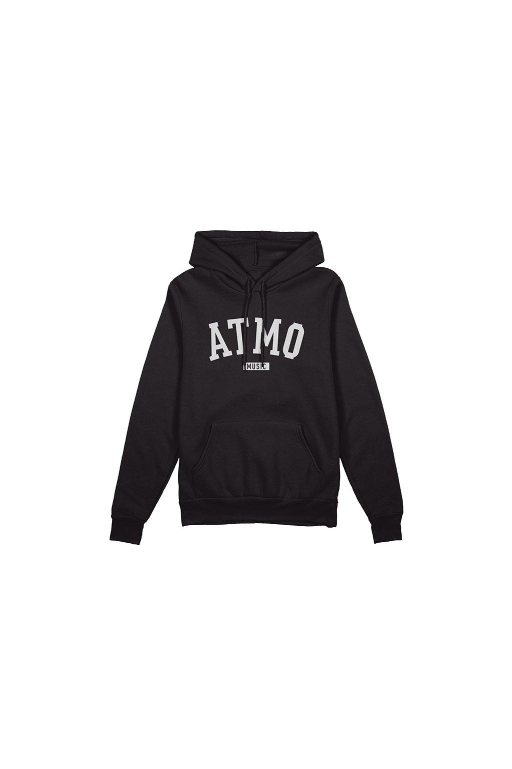 hoodie front black