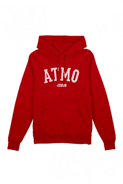 hoodie front red