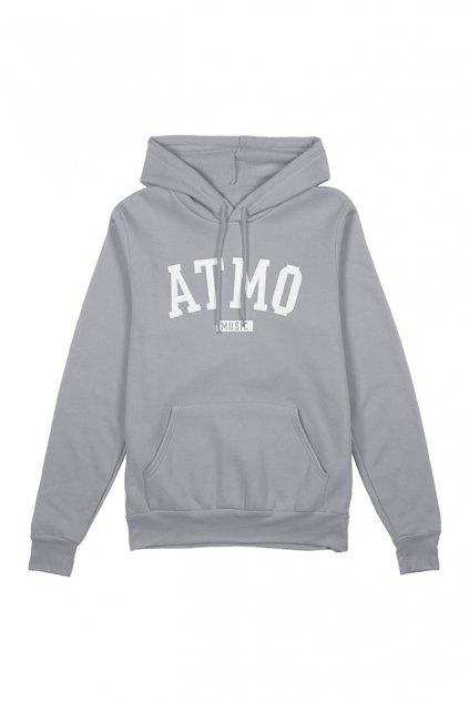 hoodie front grey