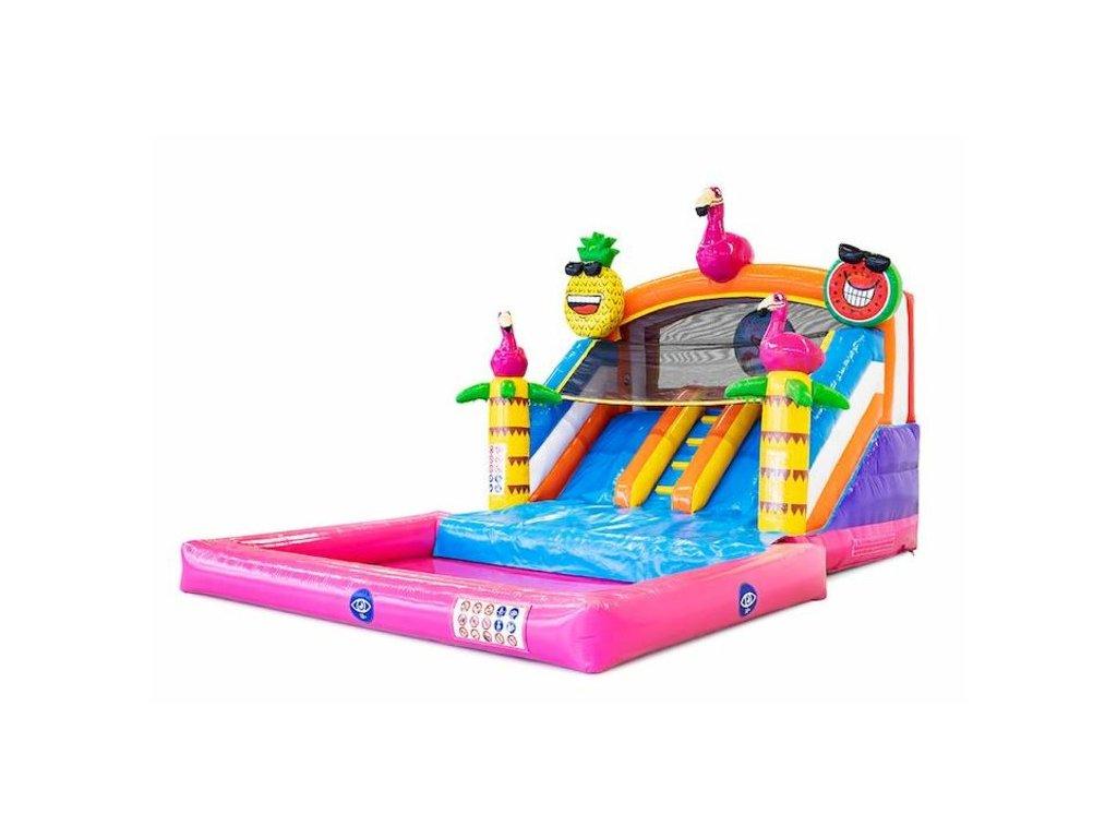 Splashy slide Flamingo 3