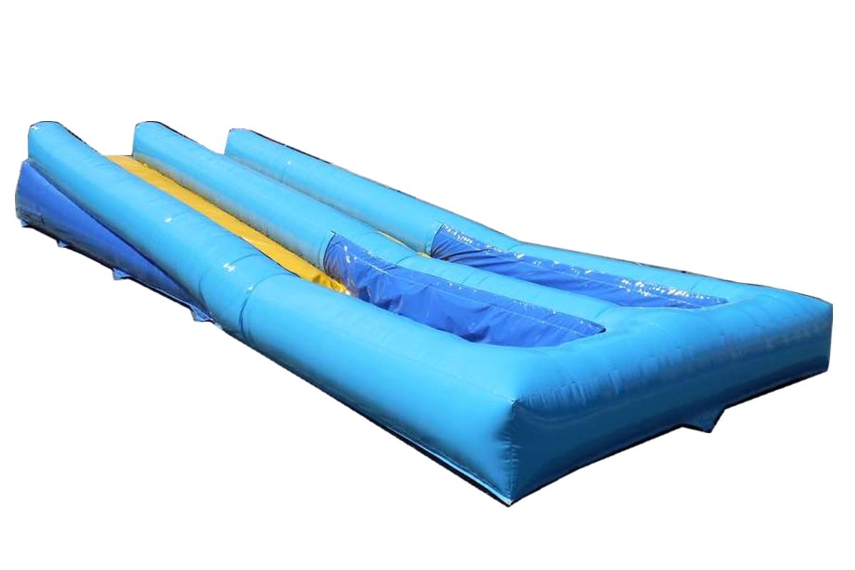 nafukovací vodní skluzavka, vodní slip slide dráha, nafukovací skluznice