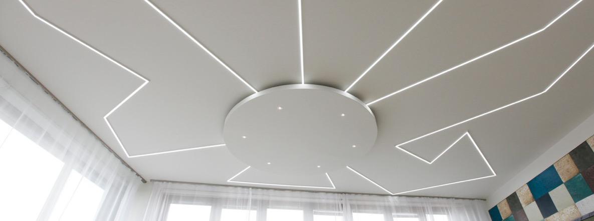 Atypické osvětlení soukromého bytu