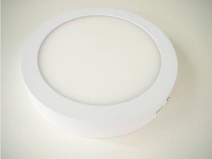 LED panel 18W přisazený kulatý, 1350 lm