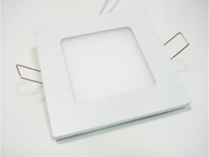 LED panel SN6, 6W čtverec bílý, 490 lm