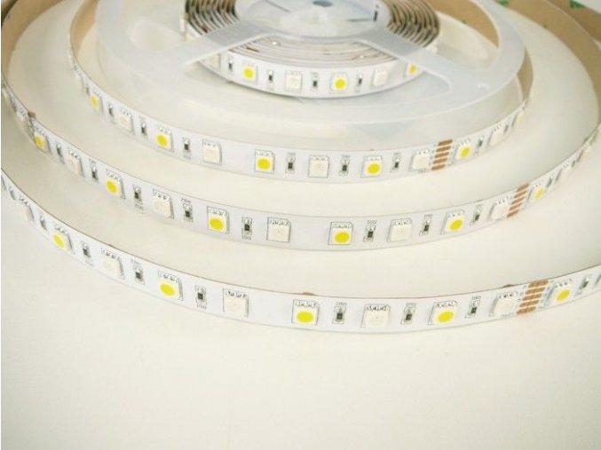 RGBW LED pásek 2x150SMD vnitřní, 24V, 1m