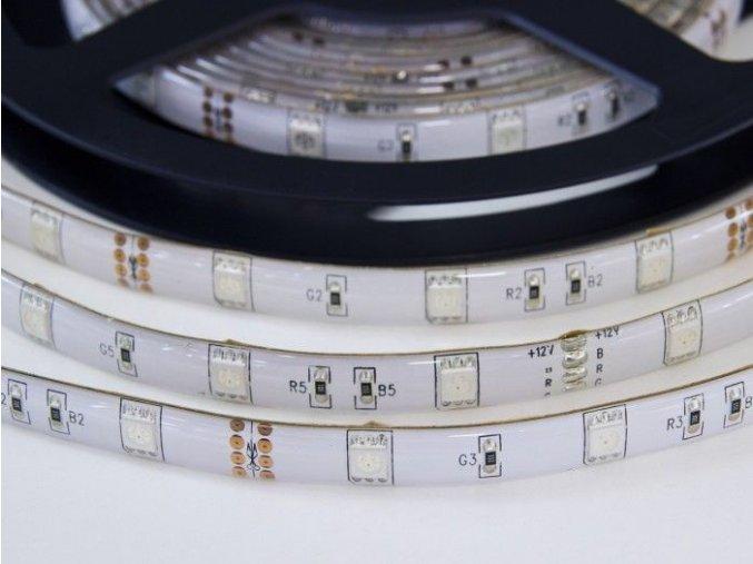 RGB LED pásek W150SMD voděodolný, IP65, 1m