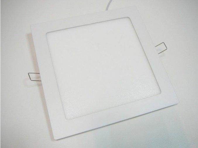 LED panel 18W čtverec bílý