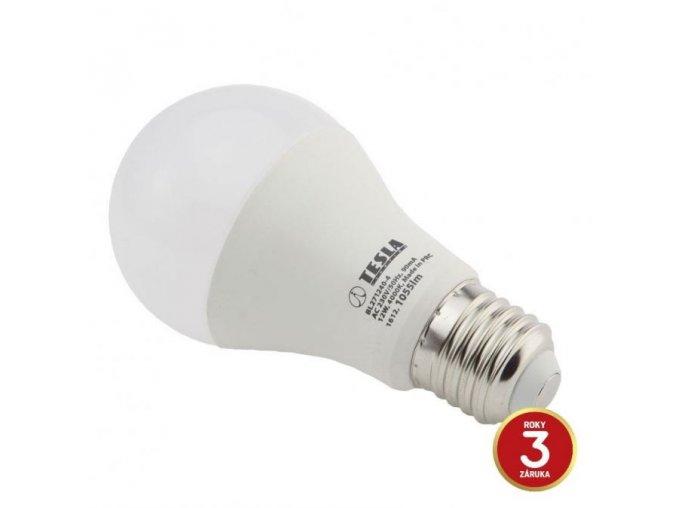 LED žárovka Tesla, E27, 12W, 230V, 1055lm, 200°
