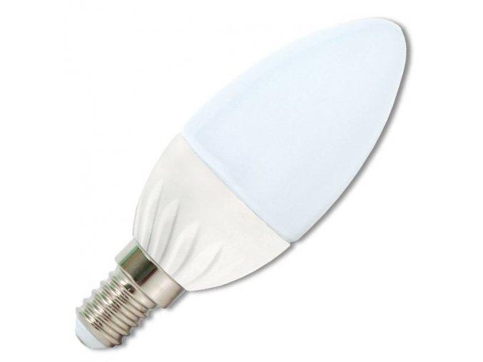 LED žárovka ECL, E14, Svíčka, 5W, 230V, 430 lm, 210°