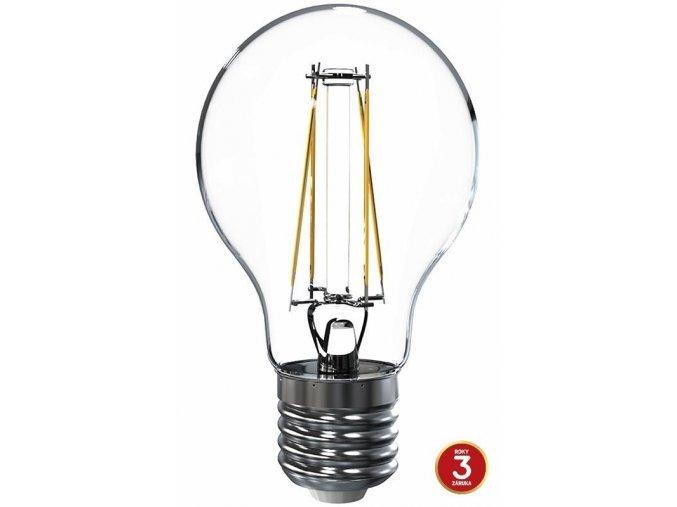 LED žárovka Tesla Filament, E27, 4W, 230V, 440 lm, 360°, teplá bílá