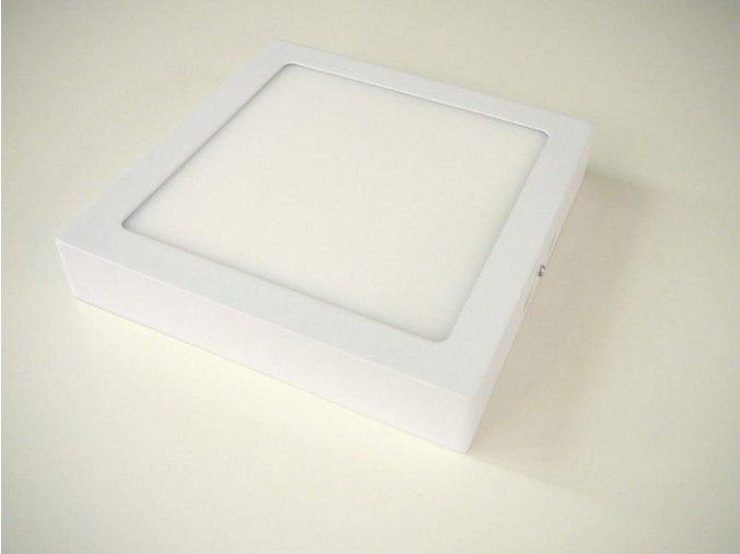 LED panel 18W přisazený čtverec, 1350 lm
