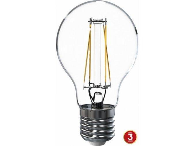 LED žárovka Tesla Filament, E27, 6,5W, 230V, 835 lm, 360°, teplá bílá
