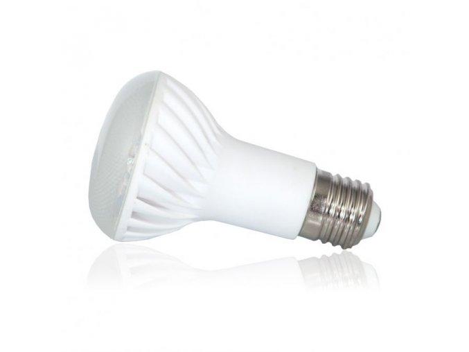 LED žárovka Tesla R63, E27, 7W, 230V, 500 lm, 90°, teplá bílá