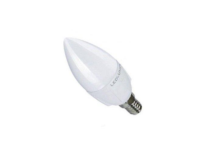 LED žárovka, E14, Stmívatelná, Svíčka, 6W, 230V, 600 lm, 240°