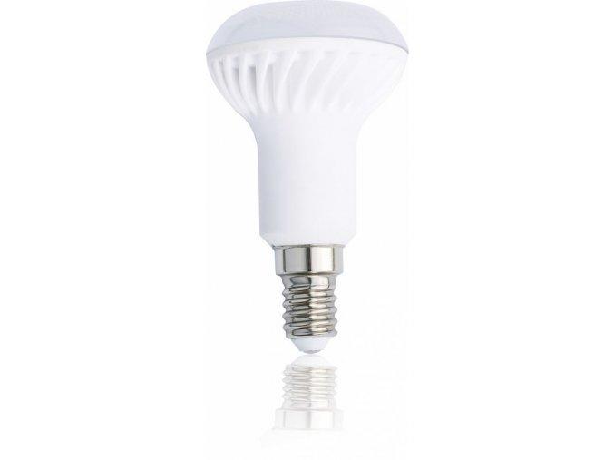 LED žárovka Tesla, E14, R50, 4,5W, 230V, 350 lm, 90°, teplá bílá