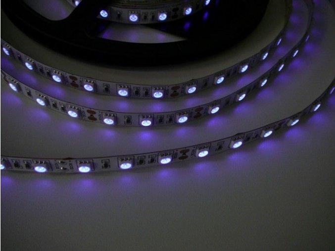UV LED pásek 14,4W/m, 1m
