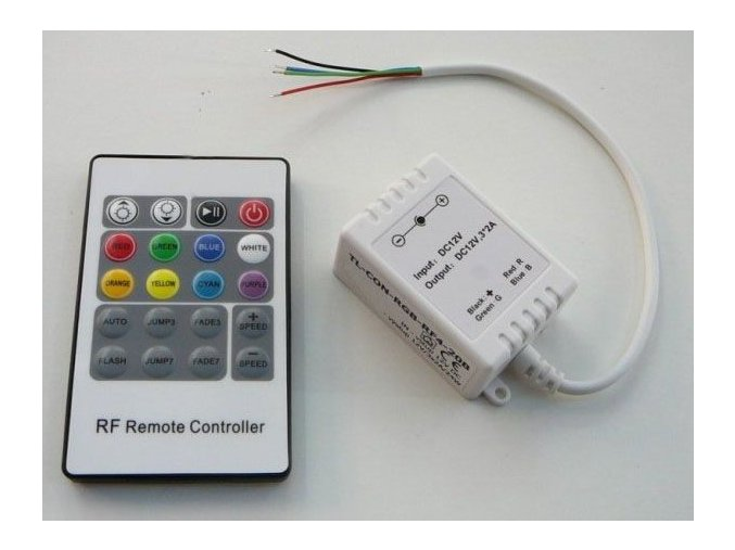 LED ovladač RGB-RF4-20B, 3x2A