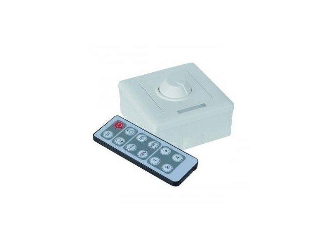 LED ovladač stmívač M3 IR, 8A