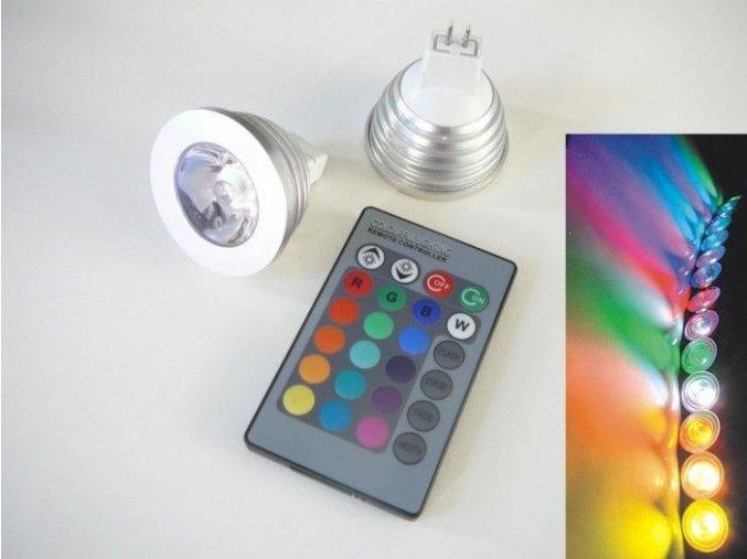 LED žárovka RGB16-2 MR16 - 60°