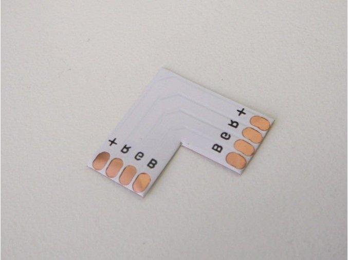 PCB spojka L pro RGB LED pásky