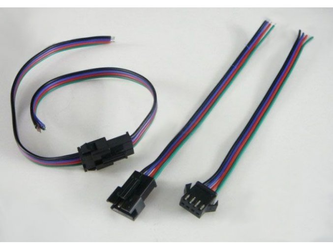 Spojovací sada s konektorem pro RGB LED pásky