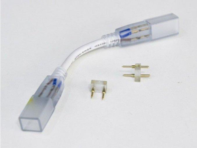 Spojka LED pásku na 230V