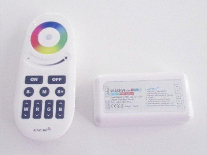 LED ovladač RGBW, 4x6A, (sada)