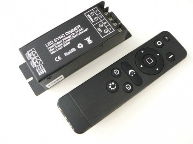 LED ovladač stmívač RF25 (sada)