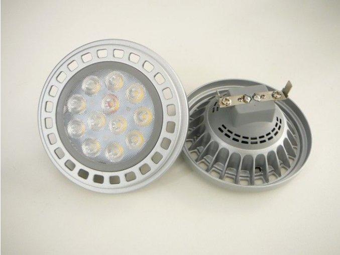 LED žárovka AR111, G53, 15W
