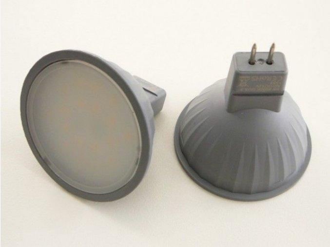 LED žárovka MR16 EL 3W, 100°