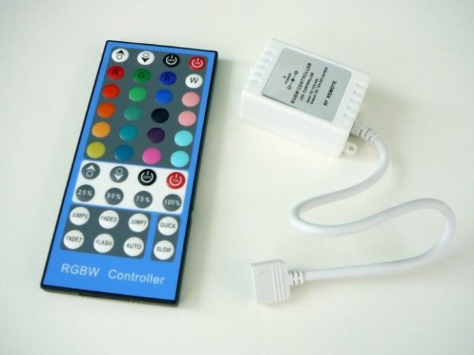 LED ovladač RGBW-RF40B, 4x2A