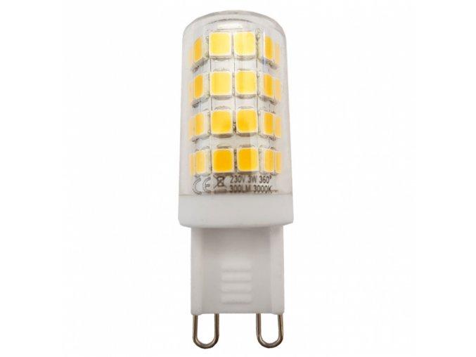 LED žárovka G9, 3W - 270°