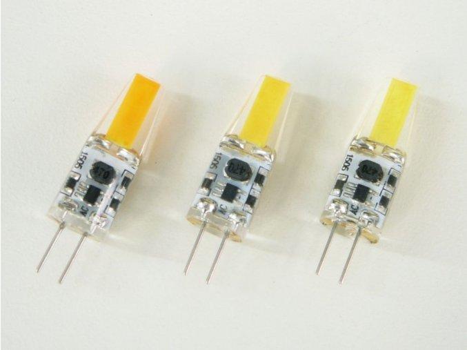 LED žárovka G4 COB3W, 3W, 190lm, stmívatelná