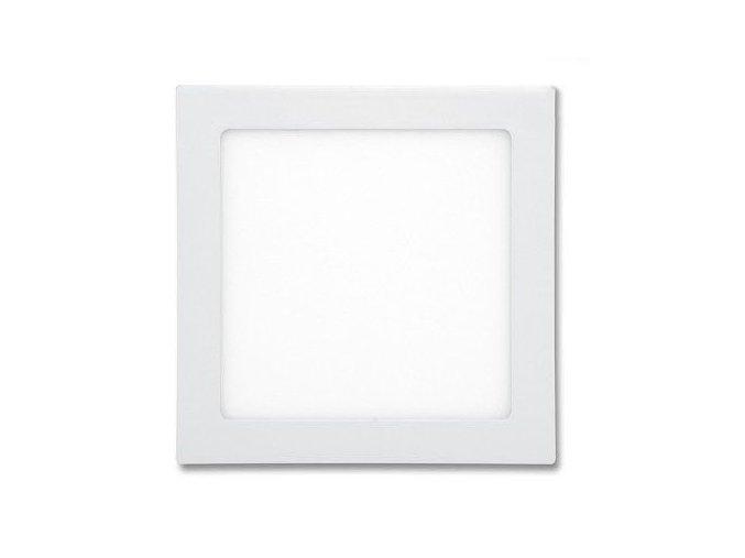 LED panel 24W čtverec bílý, 1900 lm