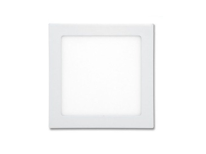 LED panel 24W čtverec bílý, 1900 lm