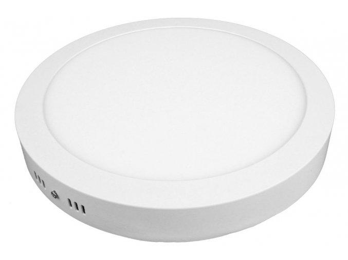 LED panel 24W přisazený kulatý, 1900 lm